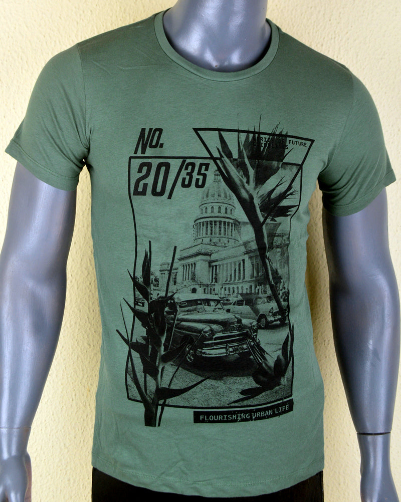 No. 20 Green T-shirt - Medium