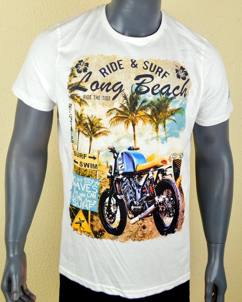Long Beach White - Large
