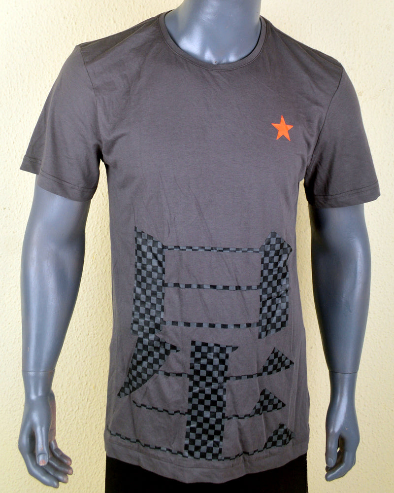 Orange Star Grey Tshirt - Large