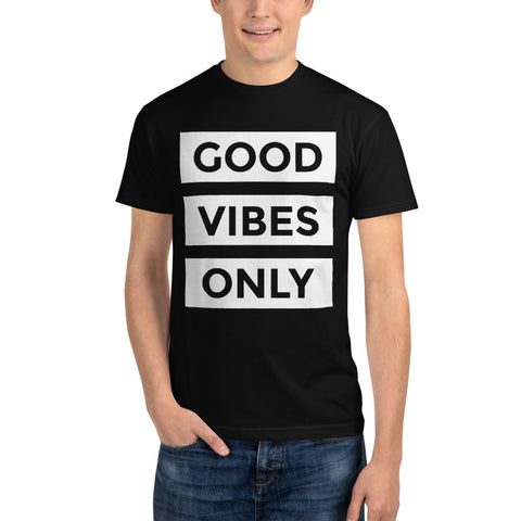 GOOD VIBES ONLY Sustainable T-Shirt