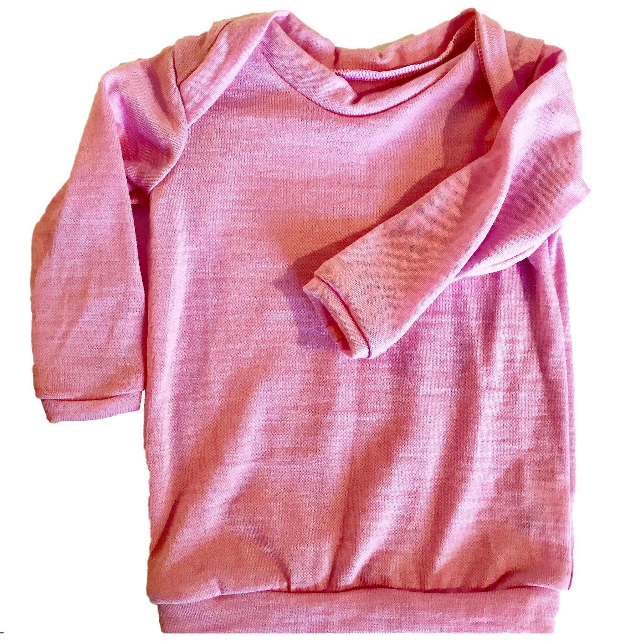 Merino - Long Sleeved - pink