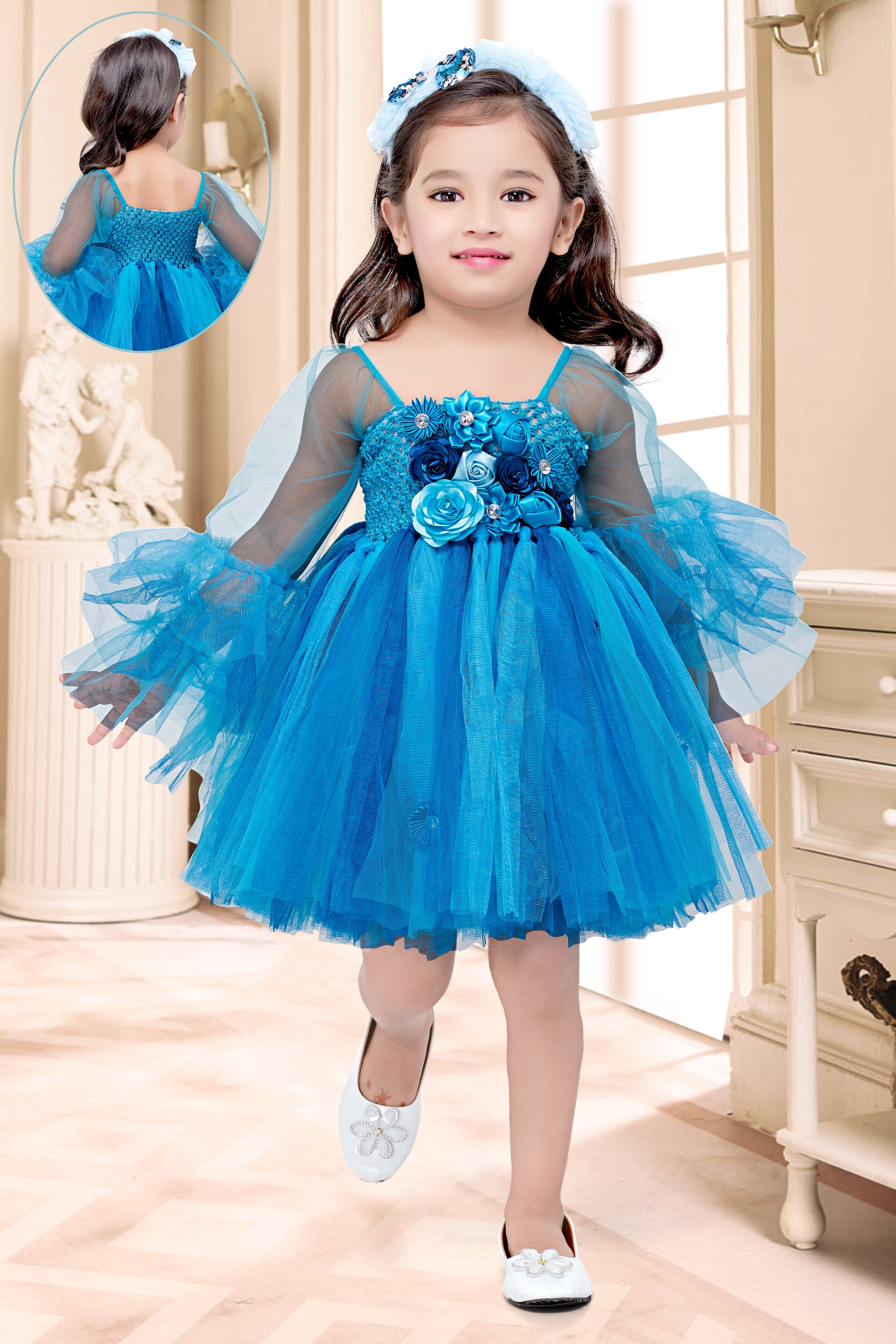 Blue Mania Frock