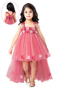 Peach Hi Low Tutu