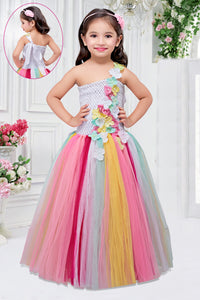 Colourful Flower Gown