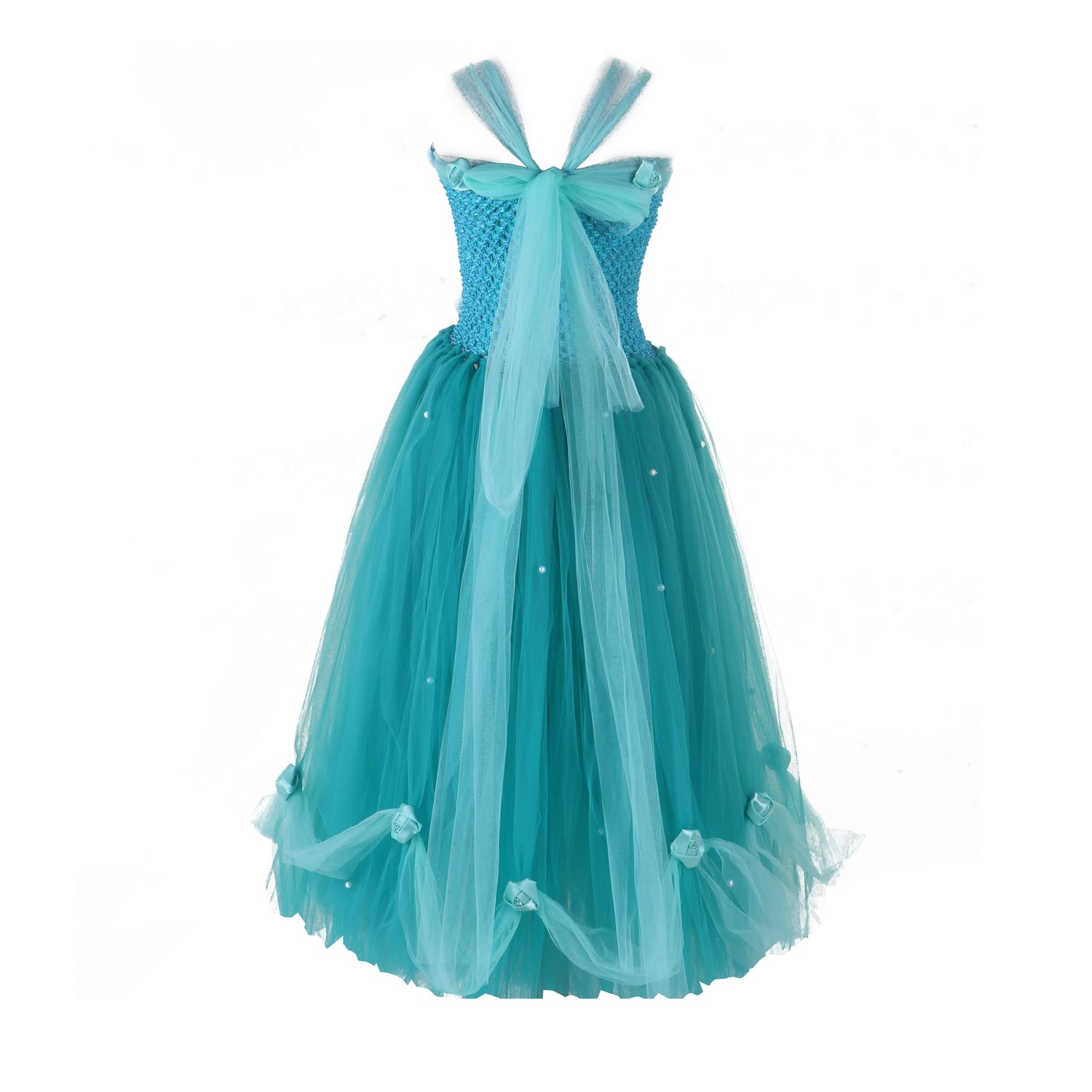 Teal Ball Gown