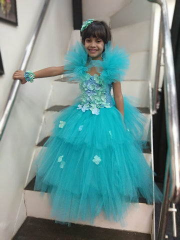 Teal Layer Tutu