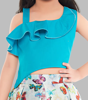 Butterfly Skirt and Top