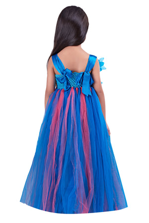 Blue Flower Gown