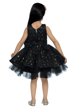 Black  Star  Party  Frock
