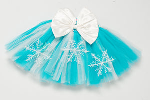 Frozen Tutu Skirt with Bow