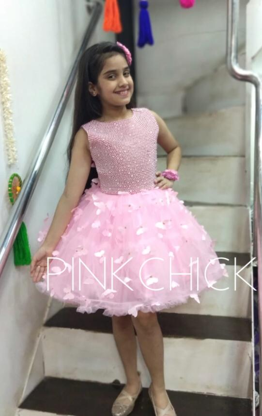 Pink Pearls Frock