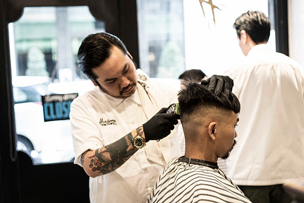 Q&A With Handsome Factory's Head Barber Ball