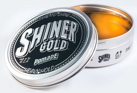 Shiner Gold Heavy Hold Pomade 112 g/ 4 oz.