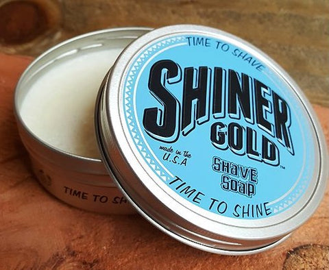 Shiner Gold Shave Soap