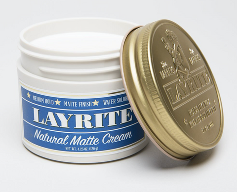 LAYRITE - NATURAL MATTE CREAM 4.25 oz