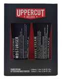 Uppercut Deluxe - Shave Cream And Aftershave Moisturiser Duo 100 ml/ 3.38 fl oz. x 2