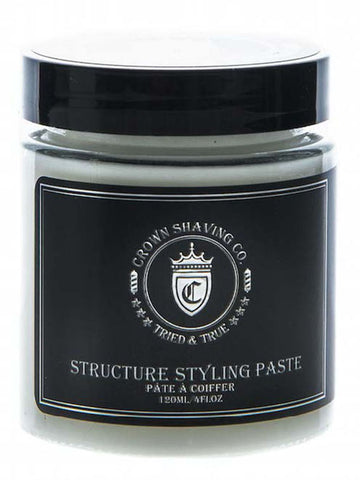 Crown Shaving Co - Structure Styling Paste 4oz