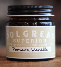 COOLGREASE SUPERIORE - Mini Pomade Vanilla 80g