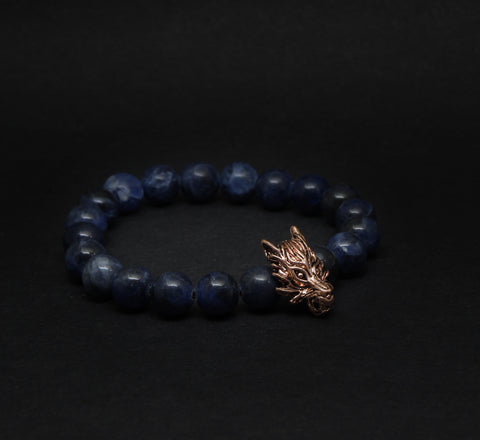 Vershale // Lupus x Blue // Rose Gold - [product-type]