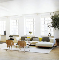 Scandinavian style interior living room