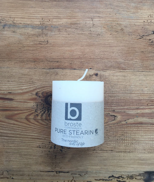 Eco Stearin Block Candles