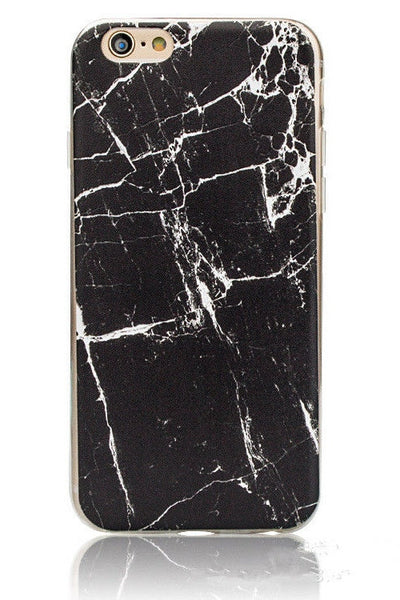 V&H Marble iPhone Case (Black)