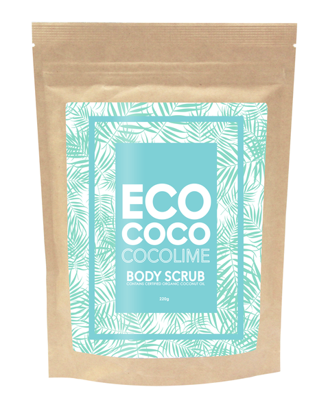Eco Coco Lime Body Scrub