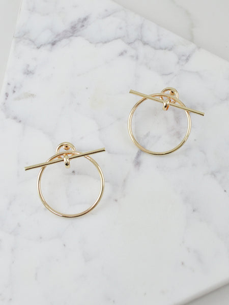 Lady By Night Earrings (Gold)