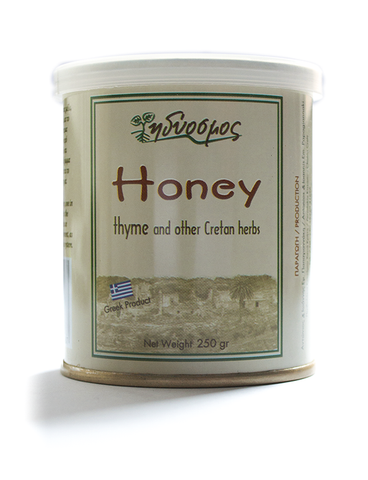 Honey with Thyme & other Herbs-250gr Metal Container