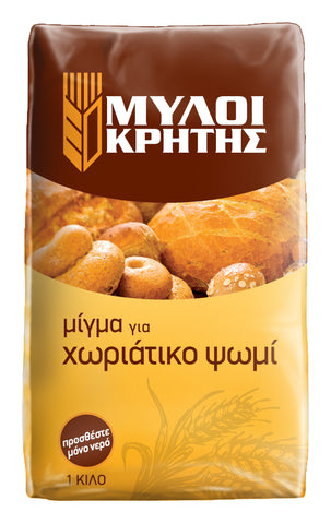 Mills of Crete Country Bread mix 1kg