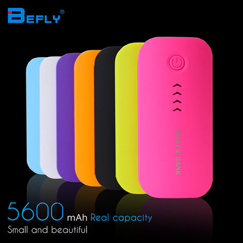 Feather Shape 5600mAh Power Bank Portable Charger For ALL Mobile Phones