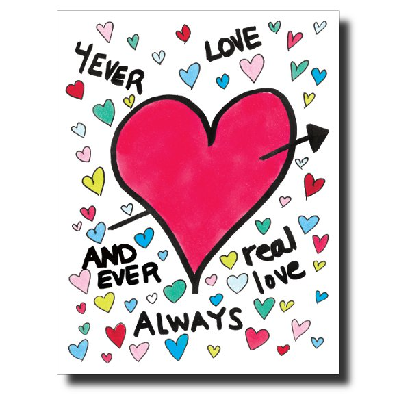 4ever Love card by Janet Karp