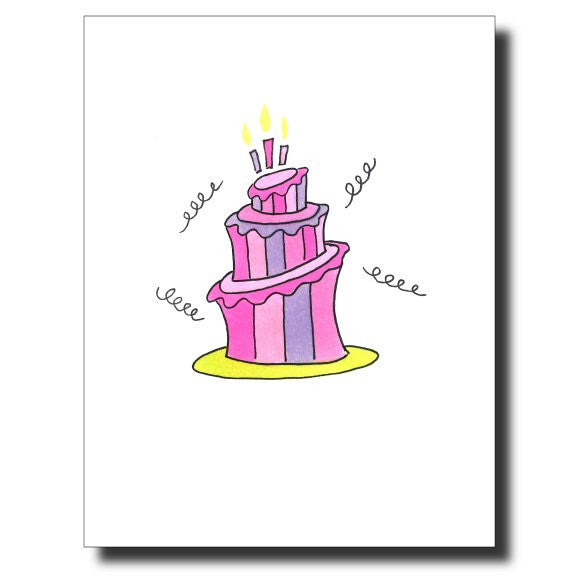Happy Birthday card by Janet Karp
