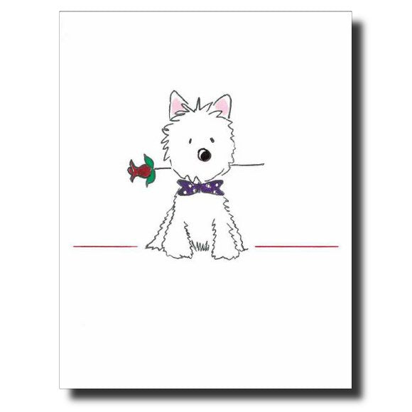 Charlie # 2 card by Janet Karp