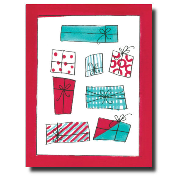 Christmas Presents card by Janet Karp