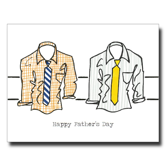Father's Day Shirts card by Janet Karp