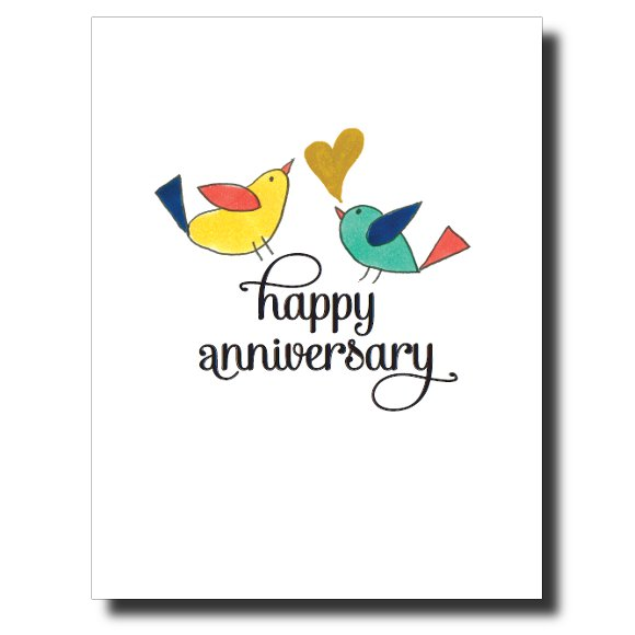 Happy Anniversary #1 card by Janet Karp