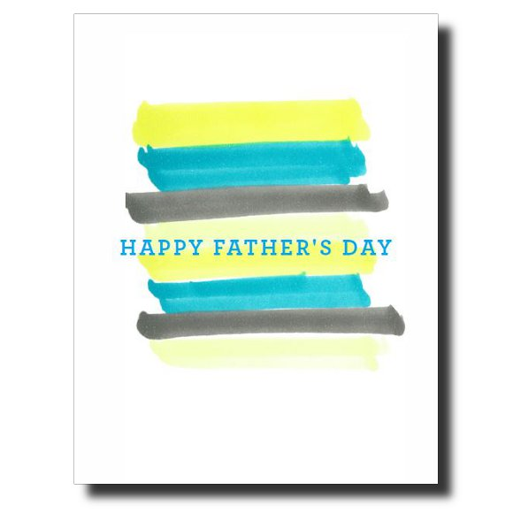 Happy Father's Day card by Janet Karp
