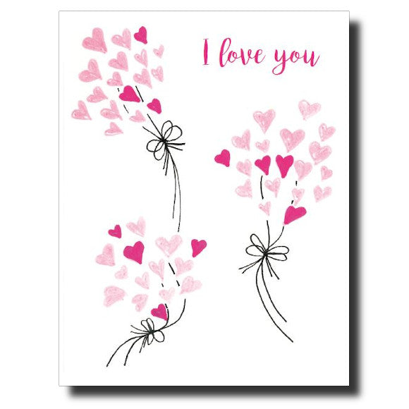 I Love You card by Janet Karp