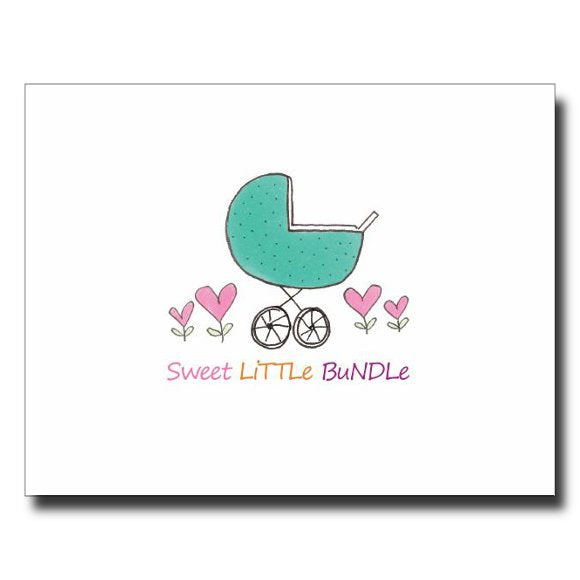 Sweet Little Bundle card by Janet Karp