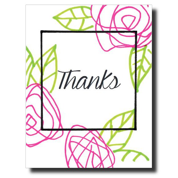 Thank You card by Janet Karp