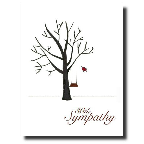 With Sympathy card by Janet Karp