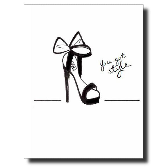 You Got Style card by Janet Karp