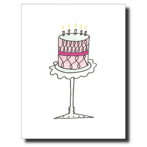 You Say It's Your Birthday card by Janet Karp