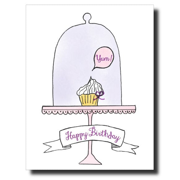 """Yum"" card by Janet Karp"