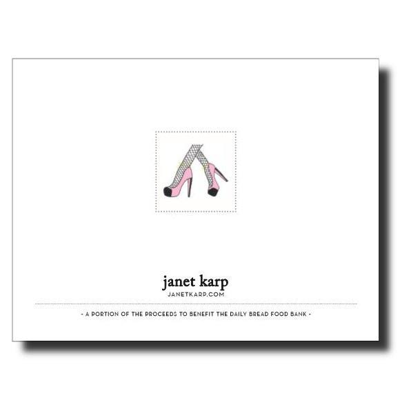 Back Side Cards by Janet Karp
