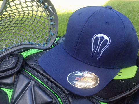 3CF Navy Blue Flexfit Hat