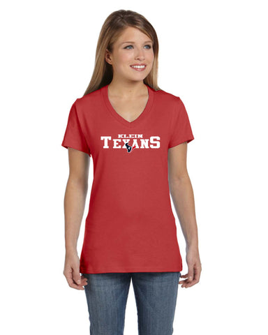 Klein Texans Red Tee