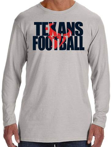 Klein Texans Performance Long Sleeve Tee