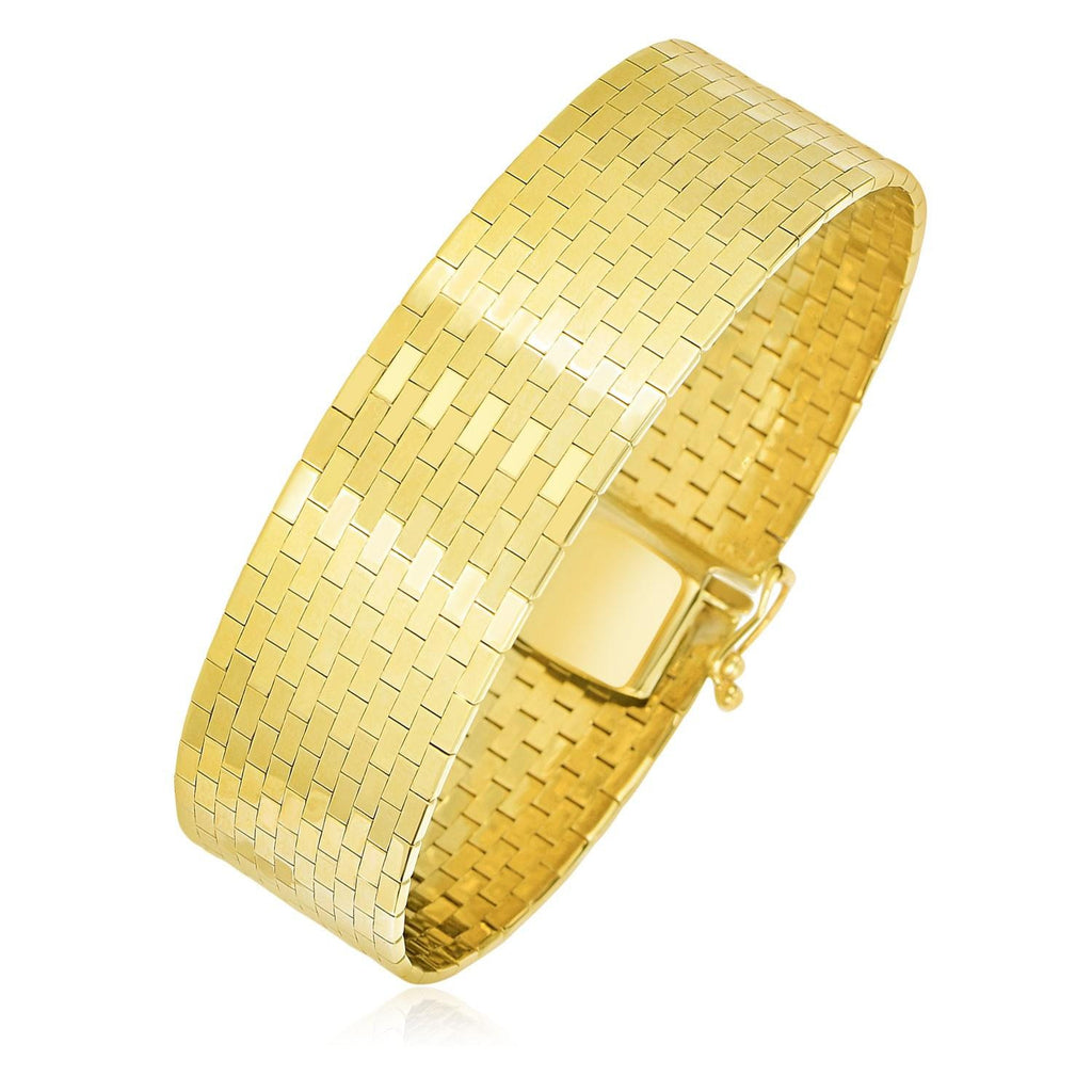 weeks thick products gold addison bangle carter bangles